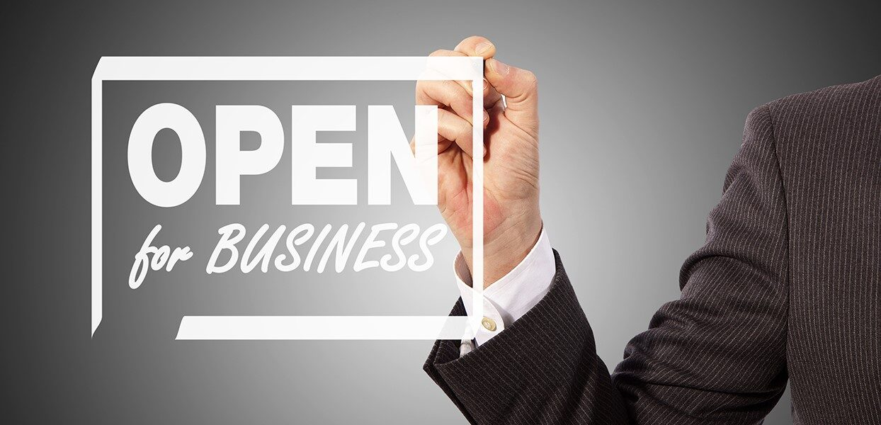 Sunbelt wants to help you be OPEN FOR BUSINESS