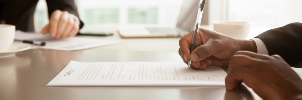 Writing a Contingent Offer on a Business